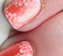 http://onceuponnails.blogspot.com/2015/03/orange-flowers.html
