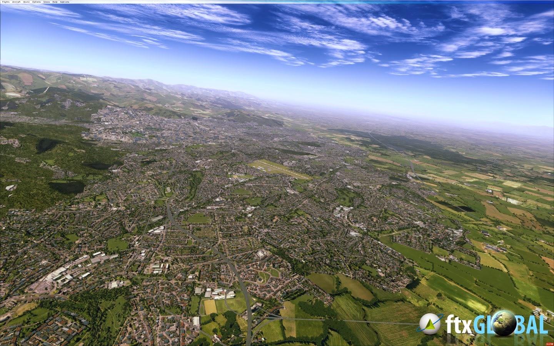 ORBX FTX Global_v1 30 [FSX P3D] - Ariel Creation - Flight Simulator