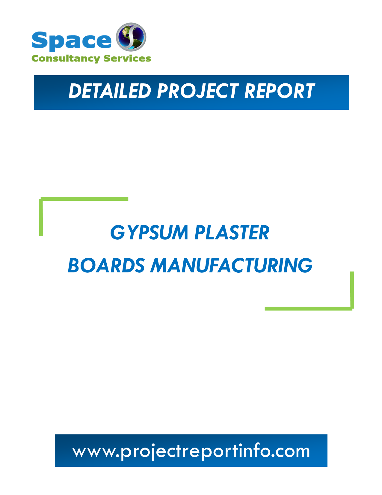 Project Report on Gypsum Plaster Boards Manufacturing