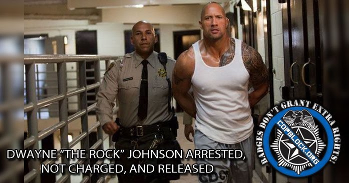 was dwayne 39 the rock 39 johnson arrested. Black Bedroom Furniture Sets. Home Design Ideas