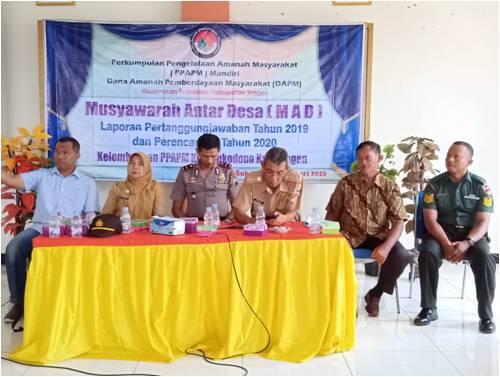 Musyawarah Antar Desa Kelembagaan PPAPM Mandiri Kecamatan Sukodono