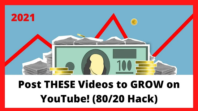 Post THESE Videos to GROW on YouTube! (8020 Hack)
