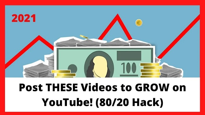 Post THESE Videos to GROW on YouTube! (80/20 Hack)