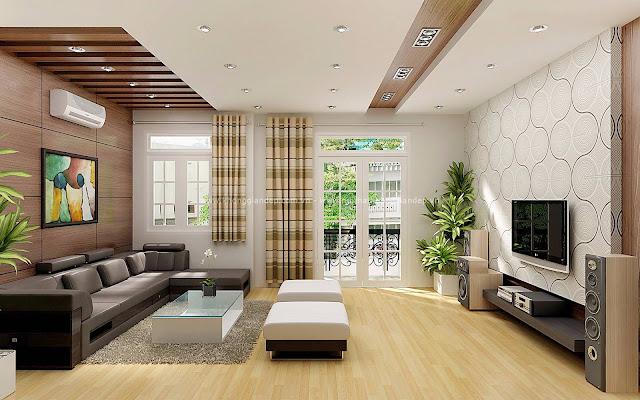 Hãy thêm những sắc màu tươi vui cho phòng khách nhà bạn