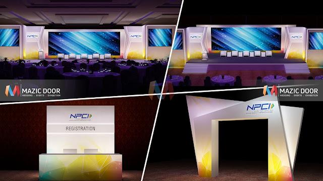 NPCI Conference Setup Design 09