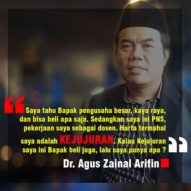 Kejujuran - Dr. Agus Zainal Arifin - Meme Islami