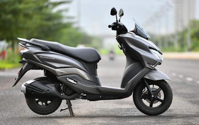 Suzuki Burgman 125 Apakah Akan di Jual Di Indonesia