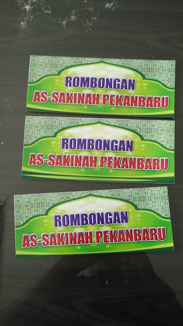 Stiker Rombongan Masjid