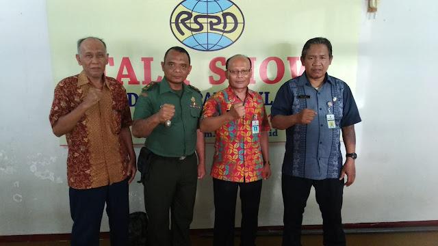 Sukseskan TMMD Reguler ke-105 Tahun 2019 RSPD Gelar Talkshow Bersama Dandim Klaten