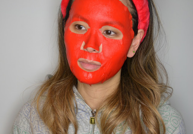 Double Dare OMG Red Snail Sheet Mask Review