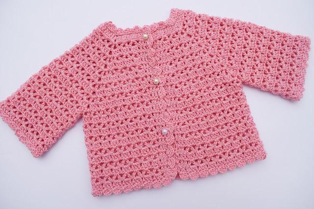 5 - Crochet Imagen Chaqueta muy fácil para todas las tallas a crochet y ganchillo (6)