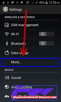 cara mengaktifkan wifi hotspot di android