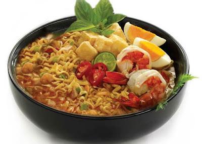 Indonesia negara pemakan mi intan terbanyak kedua