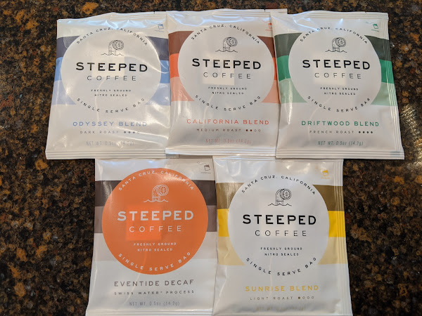 Steeped Coffee: Refreshing in a Cup