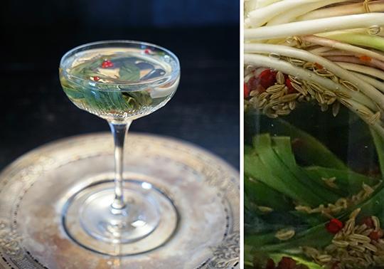 Gastronomista: Ramp Gibson Martini