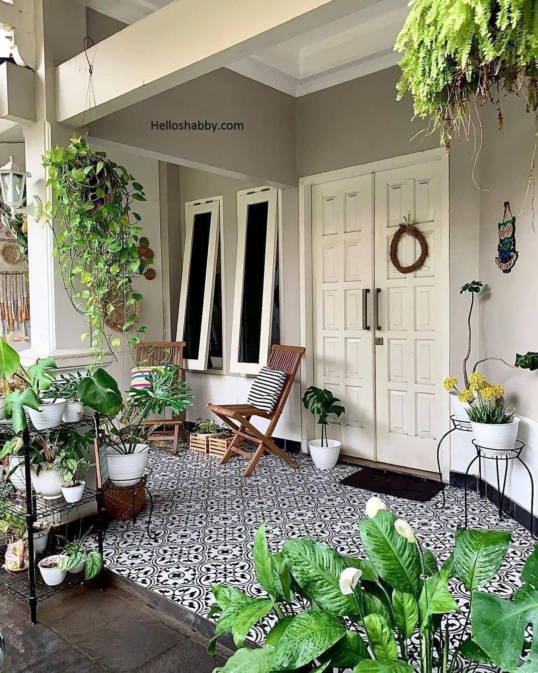 Kumpulan Desain Teras Rumah Ukuran 6 M Terdapat Taman Mini Helloshabby Com Interior And Exterior Solutions