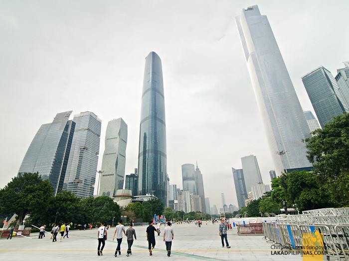 Guangzhou Skyscrapers in China