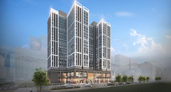 총 369실 규모 오피스텔 '힐스테이트 장안 센트럴' 4월 분양