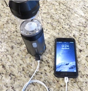 USB Rechargeable Power Bank LED Camping Lantern