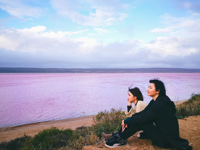australia perth wa pink lake Hutt Lagoon