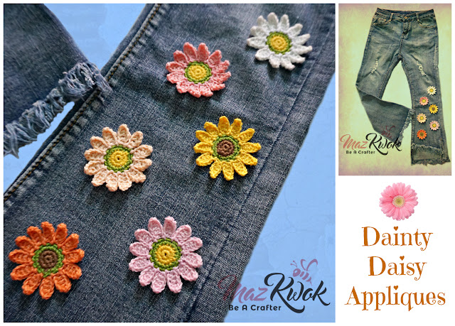 crochet daisy pattern