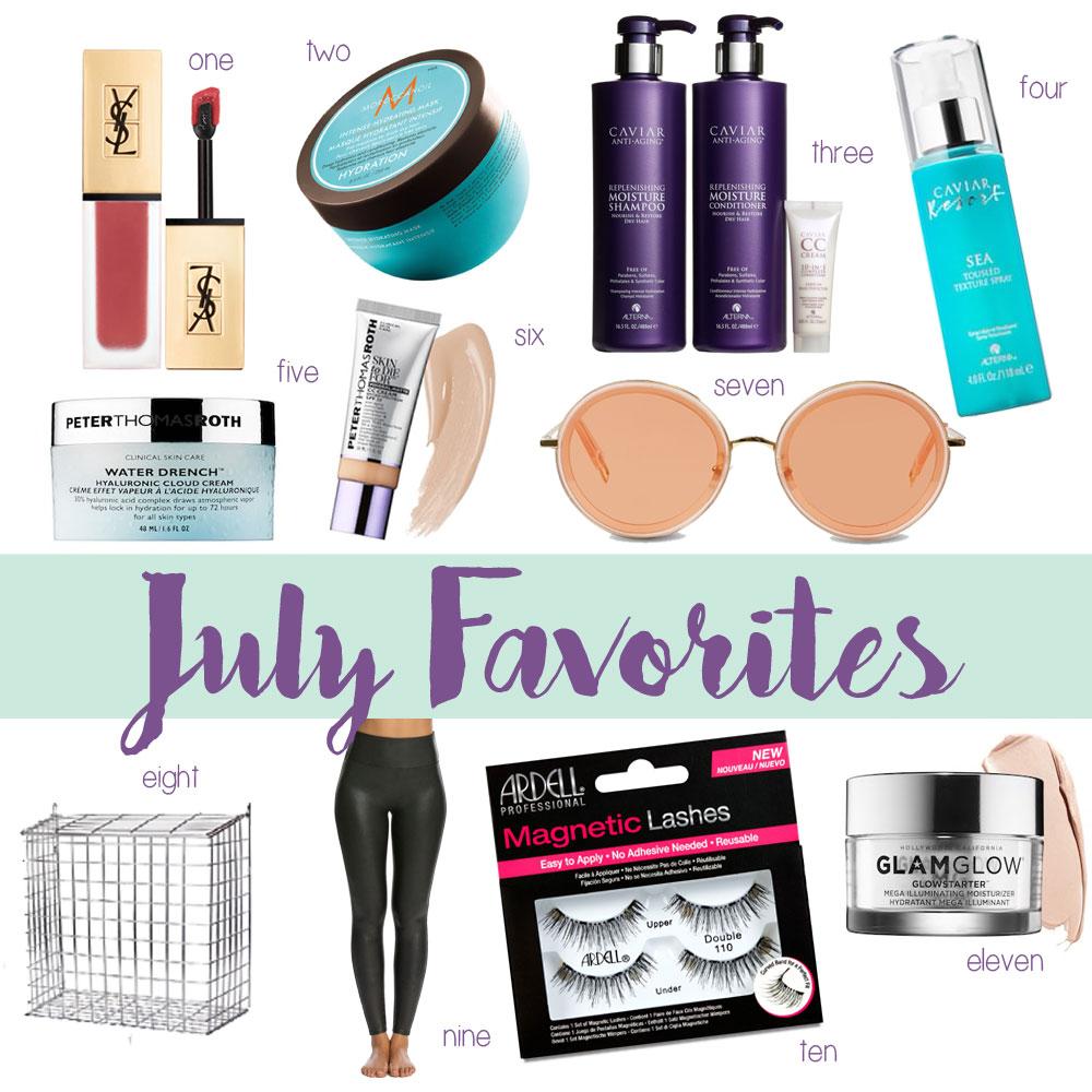 Amanda's OK July Favorites