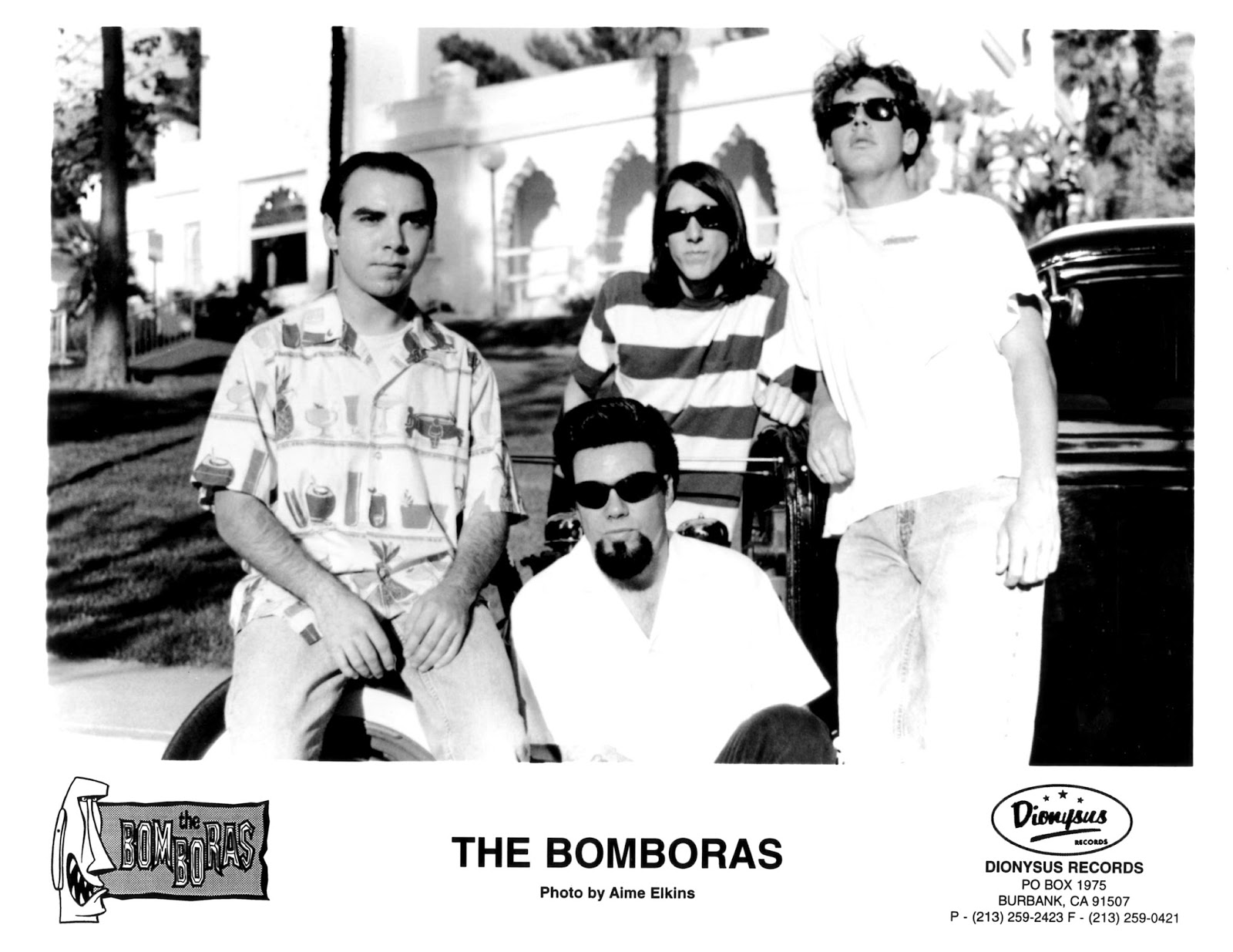 The Bomboras - Savage Island