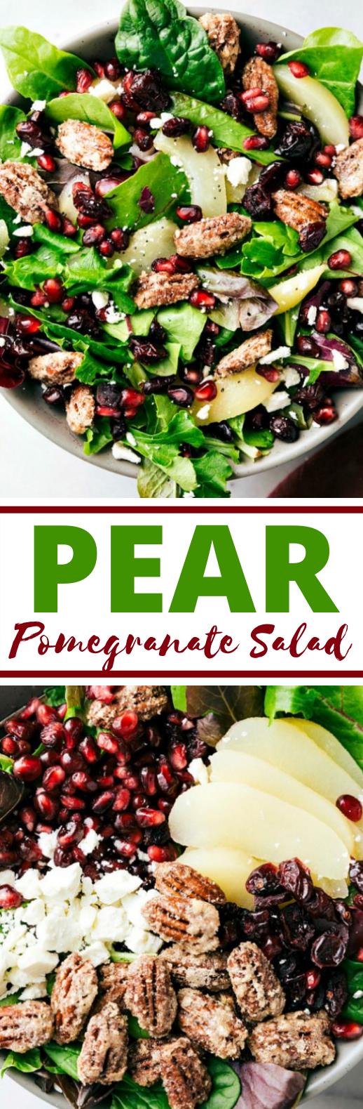 Pear Salad #vegetarian #salad #healthy #fall #lunch