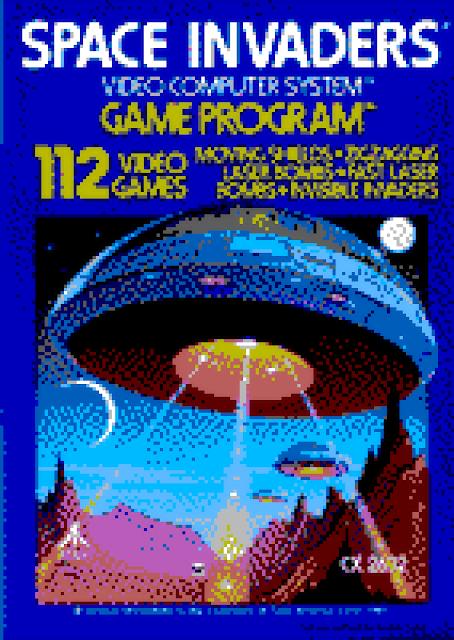 Atari Box Art recreated on Atari ST