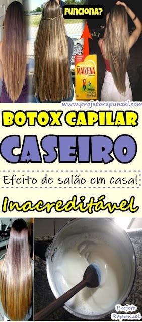 Botox Capilar Caseiro com Maizena: Efeito de Salão Inacreditável!