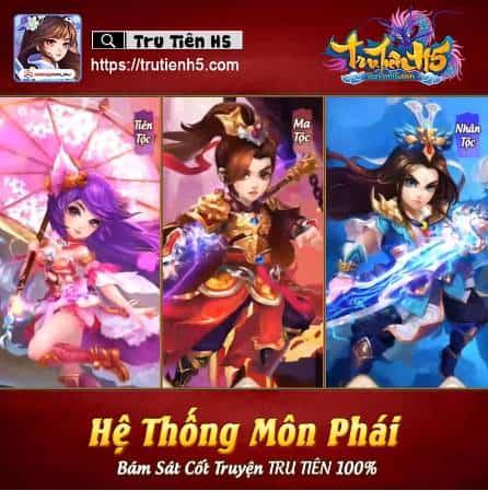 Tru Tiên H5 - Game chiến thuật đa nền tảng cập bến Việt Nam 3