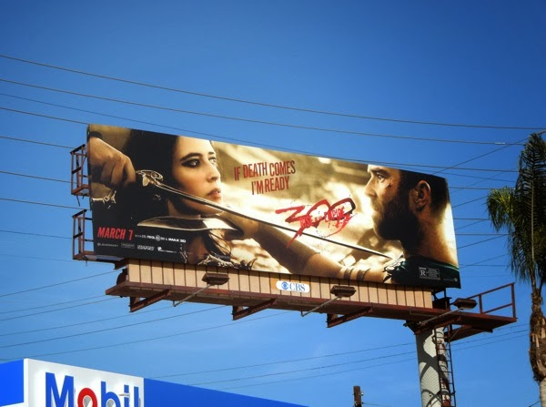 300 Rise of an Empire If death comes movie billboard
