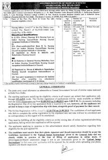 AIIMS, Delhi Recruitment 2019