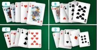 There are all sorts of combos here, but which hand wins?