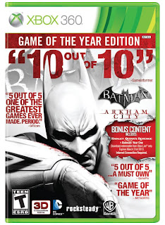 Batman Arkham City: GOTY Edition (X-BOX 360) 2012