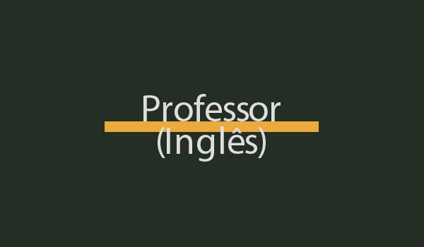 Prova de Concurso para Professor (Inglês) com Gabarito