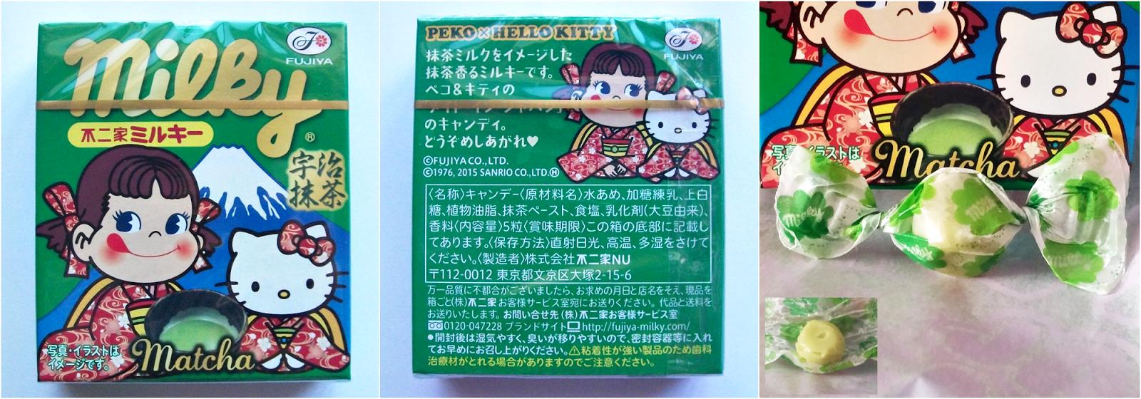 Fujiya Milky Matcha Green Tea Candies