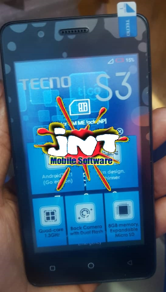 TECNO S3 (SA3) FACTORY SIGNED FIRMWARE/ FLASH FILE DOWNLOAD, TESTED