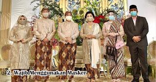 Wajib Menggunakan Masker di Era Pernikahan New Normal