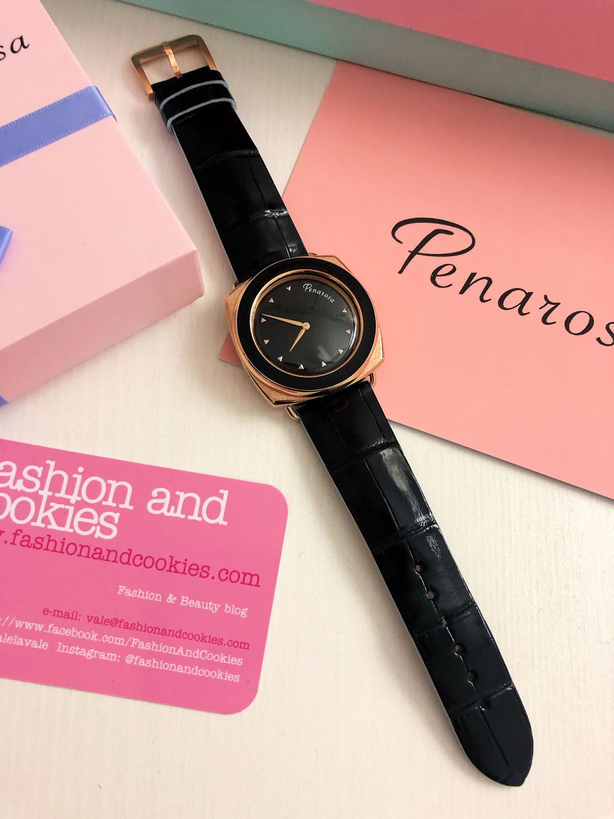 Penarosa watch on Fashion and Cookies fashion blog, fashion blogger style