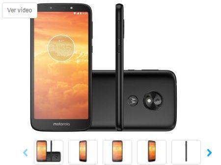 Smartphone Motorola Moto E5 Play 16GB Preto 4G