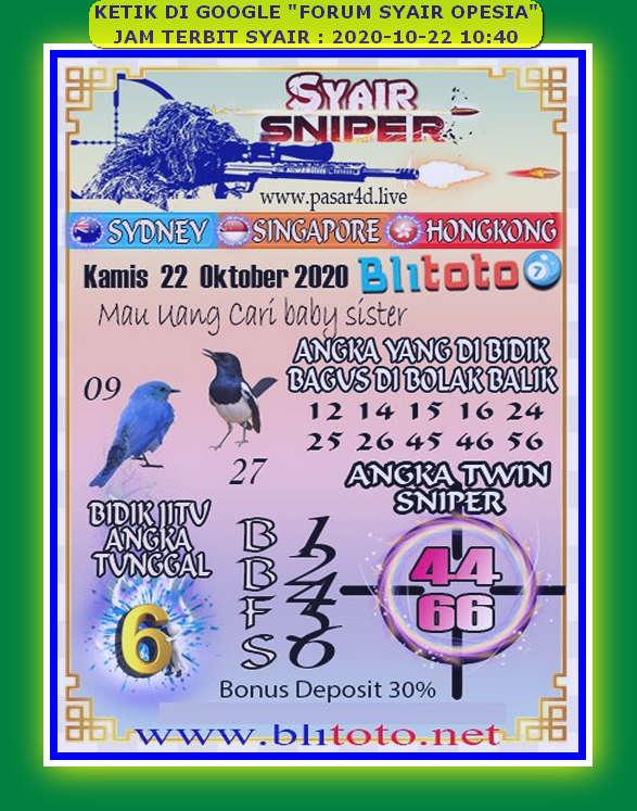 Kode syair Singapore Kamis 22 Oktober 2020 89