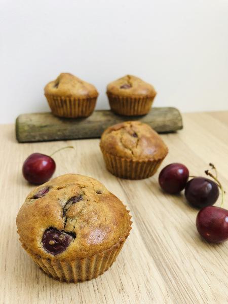 Muffins à la cerise