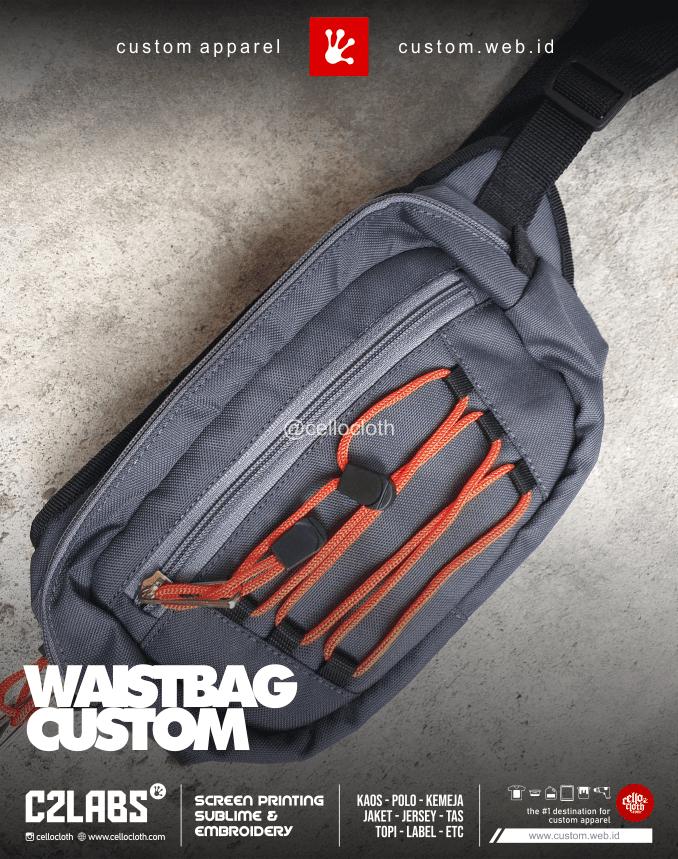 Bikin Waistbag New Custom - Konveksi Tas Jogja