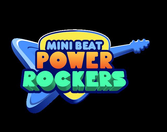 Decoración de Fiesta Infantil de Mini Beat Power Rockers