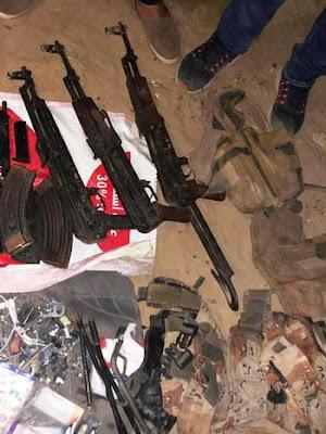 الداخلية, شمال سيناء, منطقة جلبابة, مجموعة ارهابية,