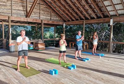 yoga, wellness, paya bay resort, ananda pavilion, tania rozsypalova,