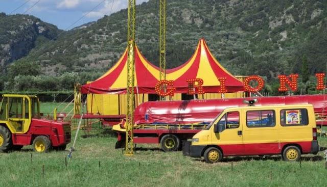 Il circo dirottato alla Baltera