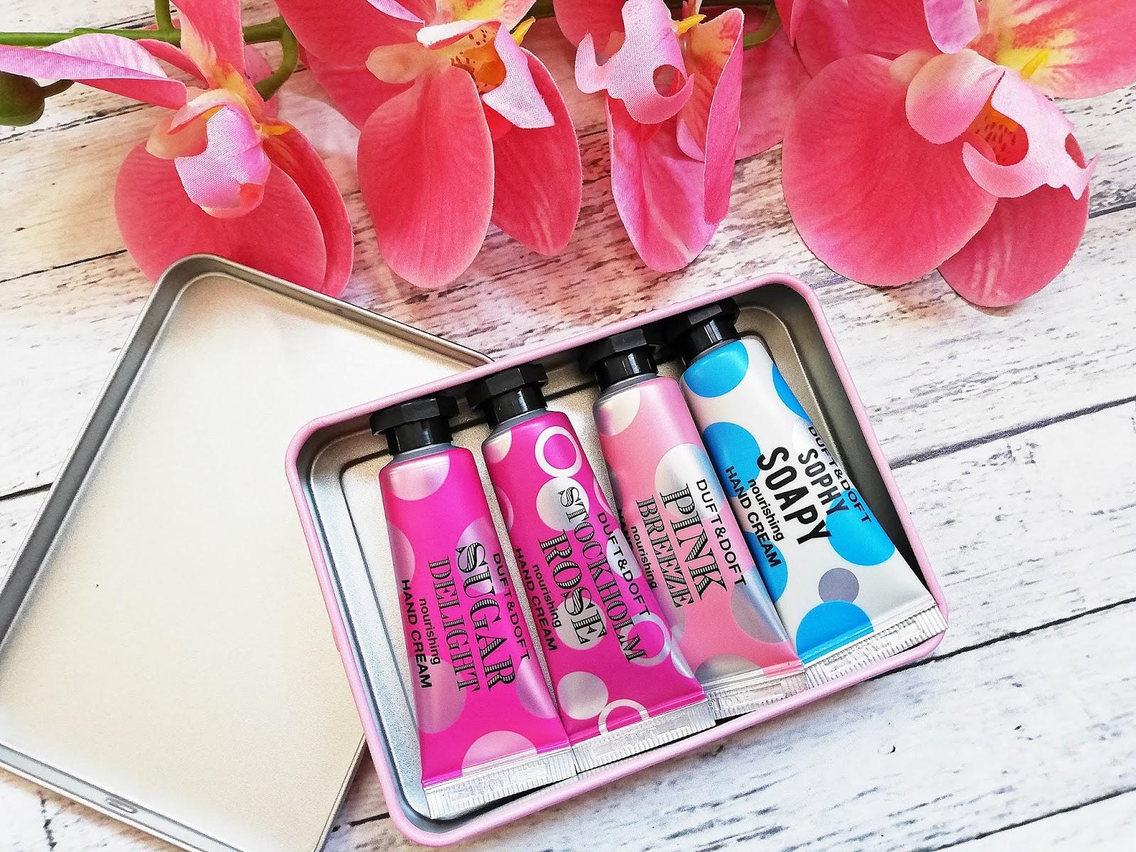 Kremy do rąk Mini Hand Creams Duft & Doft