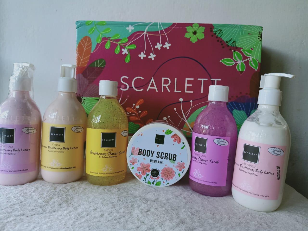 Rangkaian produk scarlett